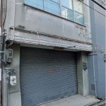 電動シャッター付の日本橋1階倉庫