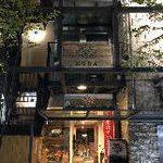 北新地の入口★視認性の良い2階店舗