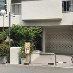 難波駅近く★川沿い通りに面す1階