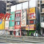 北巽駅前店舗(北から3区画目)
